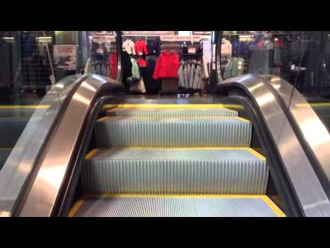 Brand New Schindler Escalators At Dick's Sporting Goods Liberty Center In Cincinnati, OH