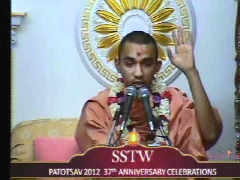 Willesden Temple 37th Patotsav 2012 - Day 5 - Morning Katha