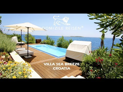 Villa Sea Breeze in Croatia by Domizile Reisen
