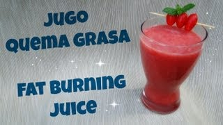 Jugo Quema Grasa ♥ Fat Burning Juice