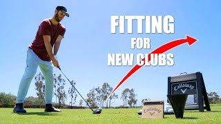 CALLAWAY FULL BAG FITTING (Insane Facility) | Brodie Smith Golf