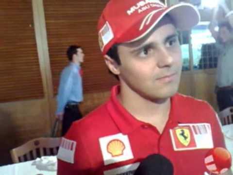Felipe Massa e a disputa com Alonso na Ferrari em 2010