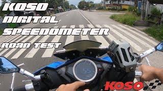 Koso Digital Speedometer for Mio i 125 | Road test | Performance | 2019