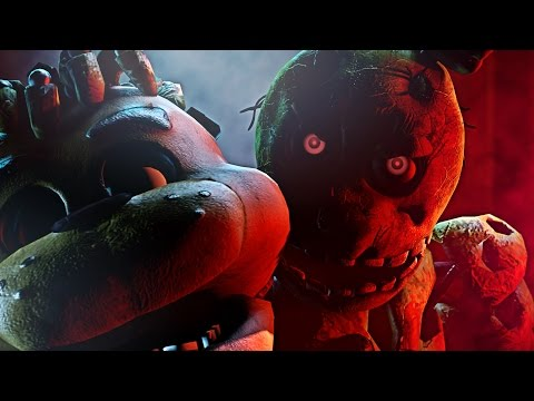 (SFM FNAF) Death Scene Springtrap - 2 Evil Eyes
