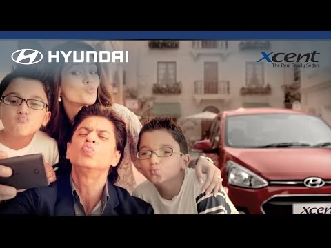 Shah Rukh Khan reveals his Xtra Love for the Hyundai Xcent!
