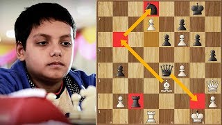 Incredible Upset! 10-year-old (1733) Beats A Grandmaster (2575)