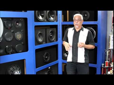 Sealed vs Ported Demonstration by Audio Xperts using SPL meter to show output differences