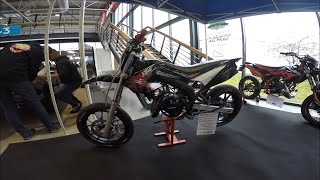 ON EXPOSE NOS 50CC AU SALON DE LA MOTO ! METZ 2019