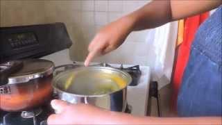 Okok aux arachides grillées