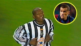 El día que Faustino Asprilla le hizo 3 goles al Barcelona