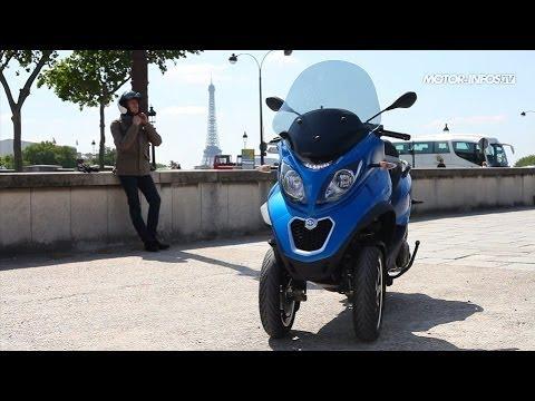 Essai Piaggio MP3 500 LT ABS/ASR 2014