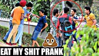 Download Eat My Shit (GU KHA LO) Prank in INDIA!! ( PRANK GONE WRONG) | AVRprankTV 3Gp Mp4