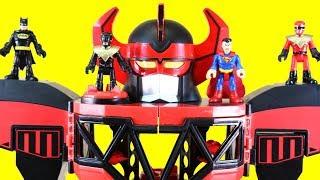 New Imaginext Morphin Megazord Toy Review + Power Rangers Vs. The Joker