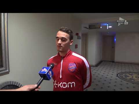 Wywiad z Miłoszem Szczepańskim. // Raków News TV