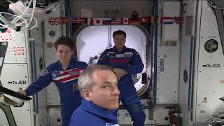 ISS Astronauts Welcome the SpaceX Crew Dragon
