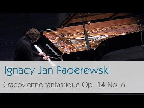 Ignacy Jan Paderewski - Cracovienne Fantastique Op. 14 No. 6 - Krzysztof Książek