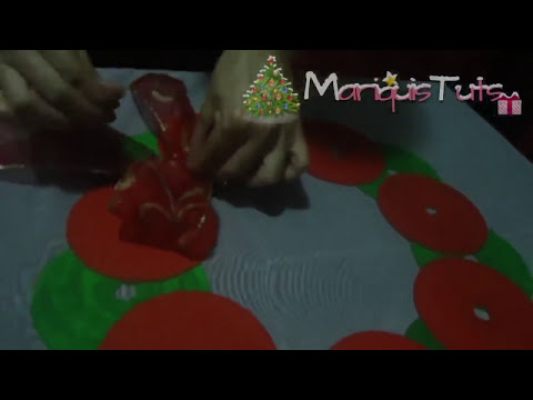 CORONA NAVIDEÑA DE CD's ~ MariquisTuts ★