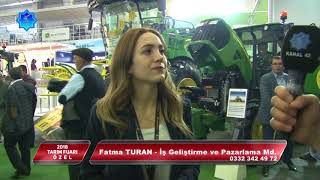 2018 KONYA TARIM FUARI ÖZEL-6 (Şakiroğlu Tarım - Konya Anadolu Tarım Makinaları)
