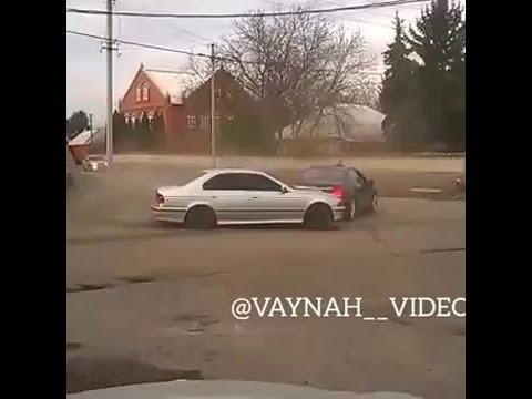 BMW M5 бмв е39 дрифт вокруг мерса ингуш