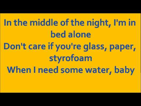 Glee my cup with lyrics