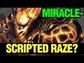 SCRIPTED RAZES? - MIRACLE- SHADOW FIEND - Dota 2