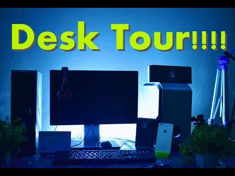 DESK TOUR [NEW 2017 ] V1.0 | AR Vlogger