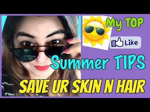 Best 5 Summer Skin Care TIPS   Glowing Clear & Flawless Skin   Natural Sun Protection   JSuper Kaur