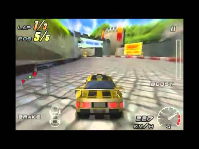 Raging Thunder For Nokia C5-03 Download   Nokia C5-03 games