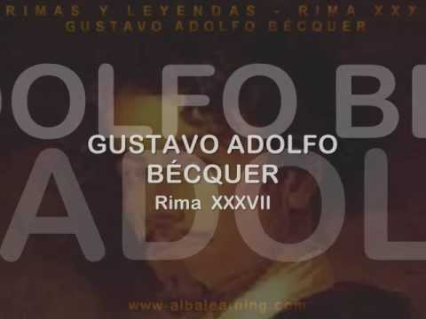 Rima XXXVIII - Gustavo Adolfo Bécquer - Audiolibros - www.albalearning...