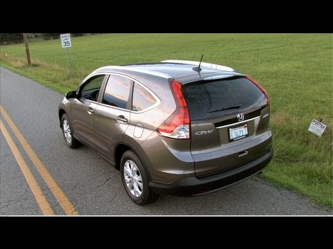 2012 Honda CR-V EX-L Review : MPGomatic