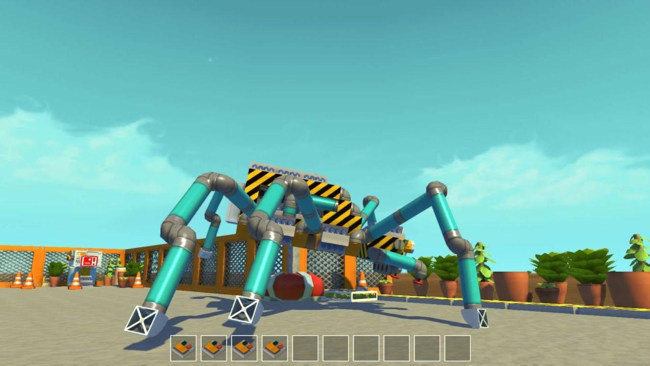 Как сделать робота в скрап механик 716