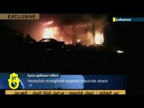 Lebanon Threatened by Syria War Spillover: Hezbollah stronghold targeted in suicide attack