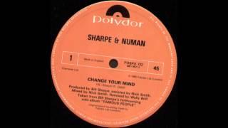 Watch Sharpe  Numan Change Your Mind video