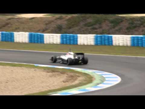 F1 Engine Sound 2014 12/22 HD 1080p