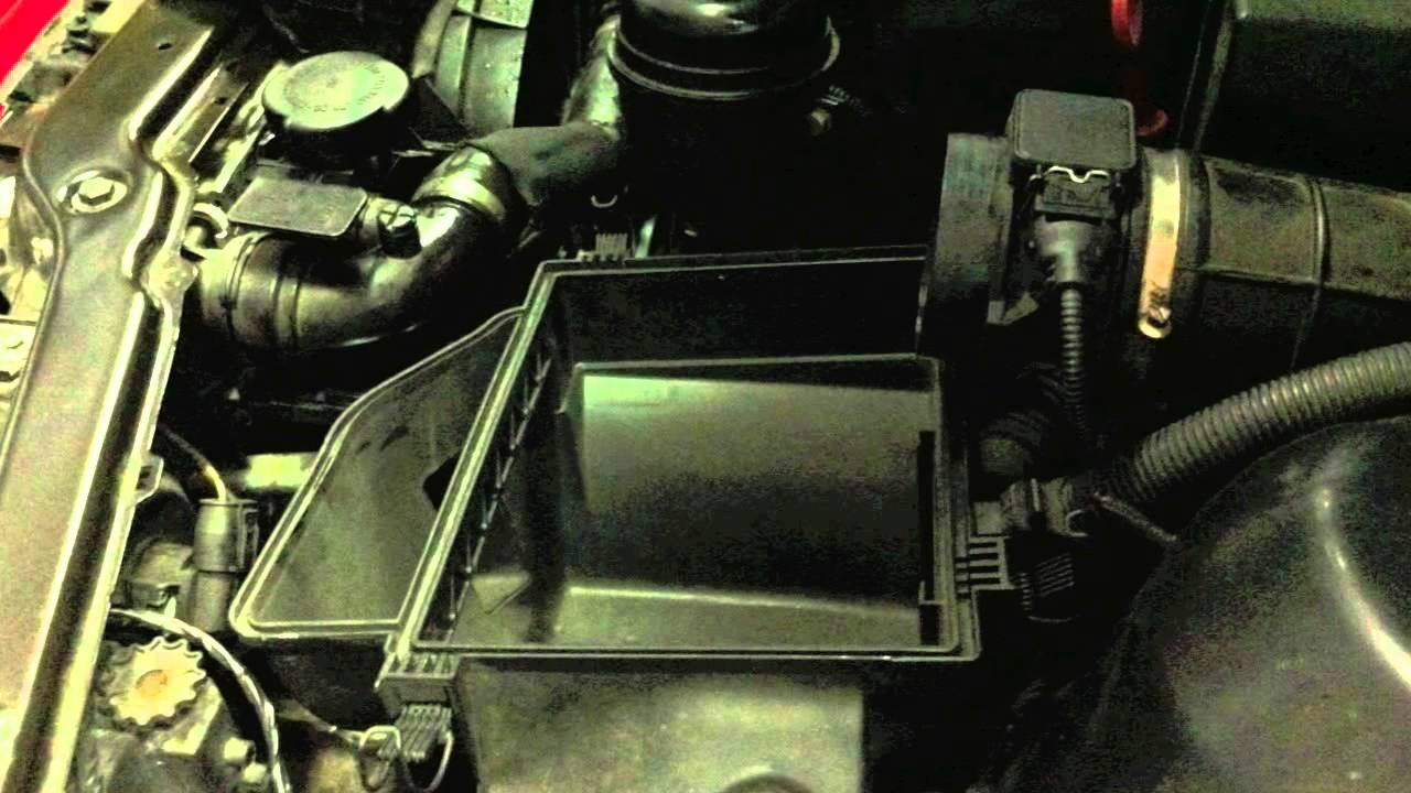 Bmw Coolant Expansion Tank Replacement E46 323 325 330 Youtube