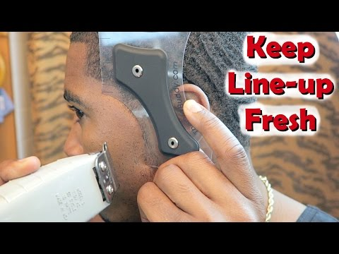 How to Keep your Line-up Fresh After Haircuts using The Cut Buddy!