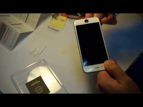 Пленка SGP Curved Crystal для iPhone 6 - распаковка и установка