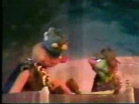 Classic Sesame Street - Caveman Ernie and the toothbrush