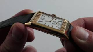 Jaeger-LeCoultre Grande Reverso Ultra-Thin Duoface Luxury Watch Review