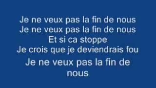 Michael Jackson Video - Michael Jackson - Je Ne Veux Pas La Fin De Nous Lyrics