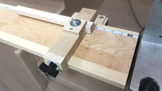 Telescoping Miter Saw Stop