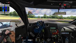 4 Lap Challenge - Nismo R35 GTR - Assetto Corsa - Spa - GoPro - Gaming