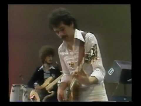 Carlos Santana performs Revelations Live in Chicago on February 22, 1977--RARE FOOTAGE