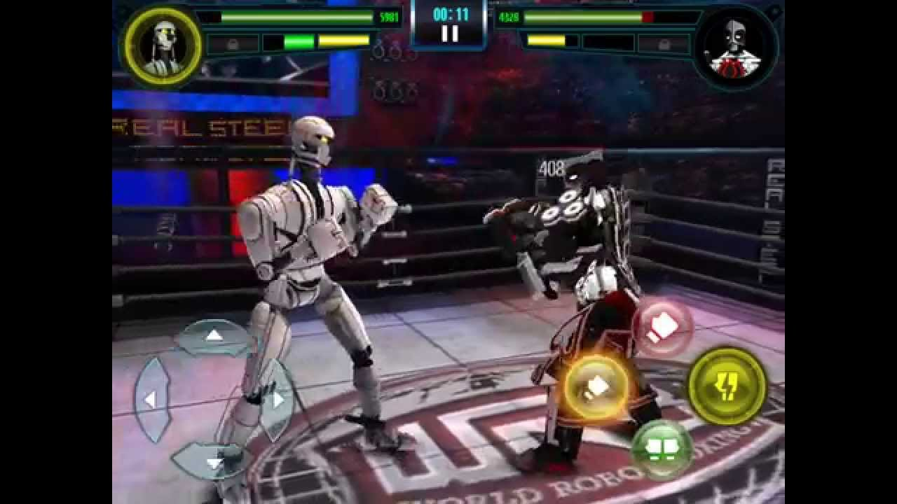 Real Steel Wrb Albino Real Steel Wrb Blac Jac vs