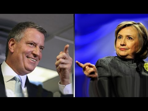 Mayor De Blasio On Notice For Hillary Clinton Comments