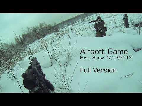 Winter Airsoft Game | First Snow | 07.12.2013 | Full Version