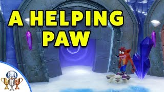 Crash Bandicoot 2: Cortex Strikes Back - A Helping Paw Trophy Guide
