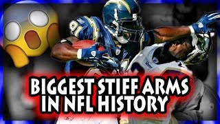 NFL Biggest Stiff Arms