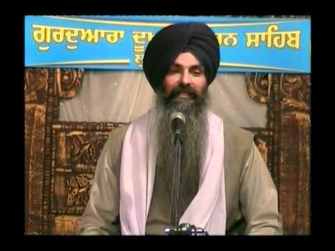 Gurbani Katha - Akal Purakh Dae Ghar Jaan - Bhai Kulwant Singh Ji video