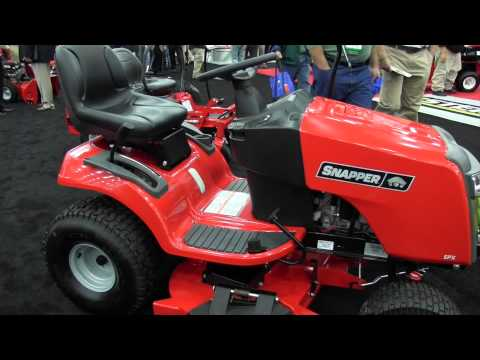 #Snapper SPX Riding Lawn Mower Tractor: By John Young of the Weekend Handyman